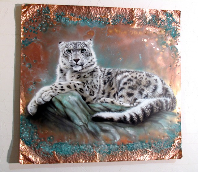 coppersnowleopard
